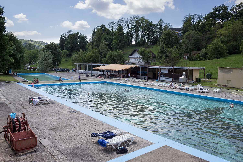 Tuheljske Toplice - stari bazeni